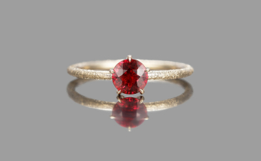 Ruby Stardust Ring