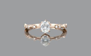 Diamond Eclipse Ring