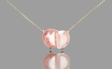 Sapphire Calyx Necklace-Supreme