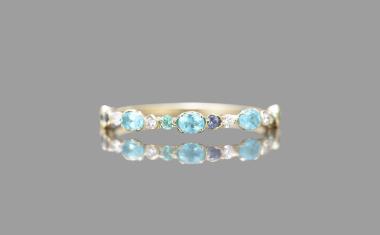 Paraiba Dotted Ring-Supreme