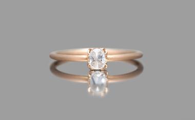 Diamond Iceberg Ring-Très Petite