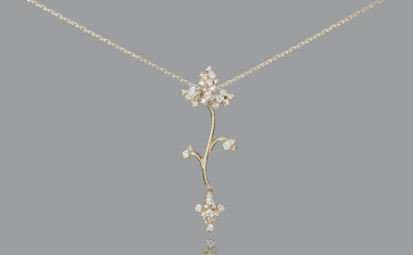 Diamond Aster Necklace
