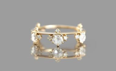 Diamond Crown Ring-Eden