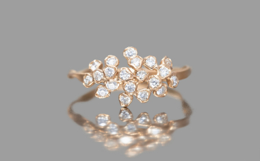 Diamond Cluster Ring-Grande
