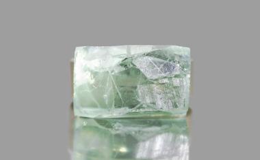 Raw Green Quartz Ring